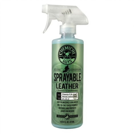 CHEMICAL GUYS SPRAYABLE LEATHER CLEANER & CONDITIONER IN ONE (473 ml)