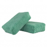CHEMICAL GUYS WORKHORSE GREEN PREMIUM GRADE MICROFIBER APPLICATOR (13x8x4 cm)