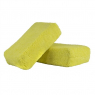 CHEMICAL GUYS WORKHORSE YELLOW PREMIUM GRADE MICROFIBER APPLICATOR (13x8x4 cm)