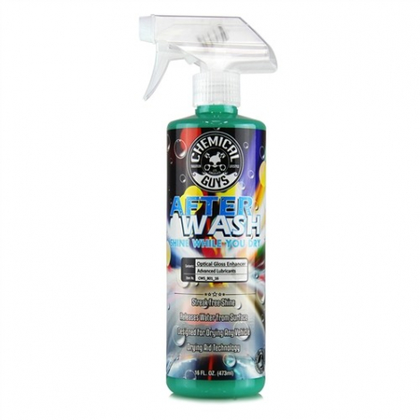 CHEMICAL GUYS AFTER WASH - SHINE WHILE YOU DRY DRYING AGENT, WITH HYBRID GLOSS TECHNOLOGY (473 ml)