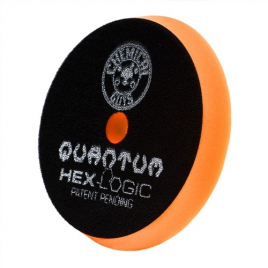 CHEMICAL GUYS HEX-LOGIC QUANTUM MEDIUM-HEAVY CUTTING PAD ORANGE (165 mm)