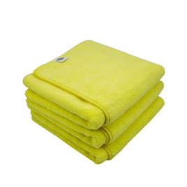 CHEMICAL GUYS WORKHORSE XL YELLOW PROFESSIONAL GRADE MICROFIBER TOWEL