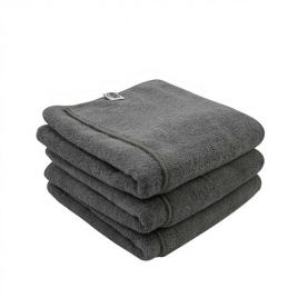 CHEMICAL GUYS WORKHORSE XL GRAY PROFESSIONAL GRADE MICROFIBER TOWEL
