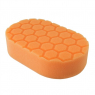 CHEMICAL GUYS HEX-LOGIC MEDIUM CUTTING HAND APPLICATOR PAD ORANGE