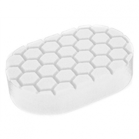 CHEMICAL GUYS HEX-LOGIC POLISHING HAND APPLICATOR PAD WHITE