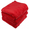 CHEMICAL GUYS HAPPY ENDING EDGELESS MICROFIBER TOWEL RED
