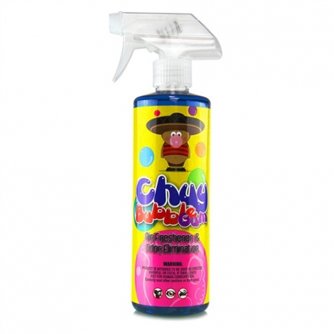 CHEMICAL GUYS CHUY BUBBLE GUM PREMIUM AIR FRESHENER & ODOR ELIMINATOR (473 ml)