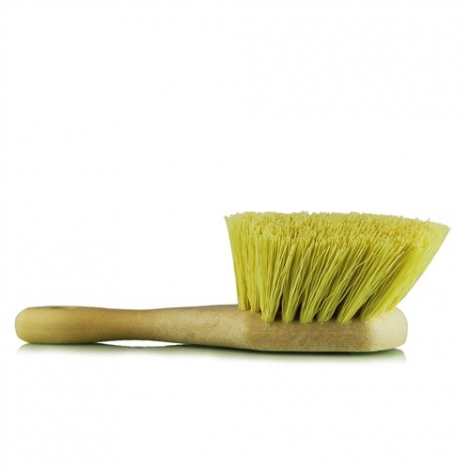 CHEMICAL GUYS CHEMICAL RESISTANT STIFFY BRUSH, YELLOW