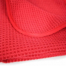 CHEMICAL GUYS GLASS & WINDOW WAFFLE WEAVE TOWEL RED (60x40 cm)