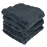 CHEMICAL GUYS HAPPY ENDING EDGELESS MICROFIBER TOWEL BLACK