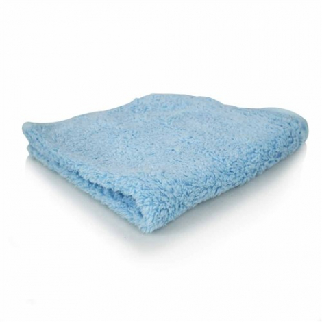 CHEMICAL GUYS SHAGGY FUR-BALL MICROFIBER TOWEL BLUE (40x40 cm)