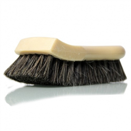 CHEMICAL GUYS LONG BRISTLE HORSE HAIR LEATHER CLEANING BRUSH