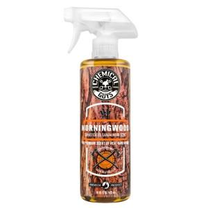 CHEMICAL GUYS MORNING WOOD SOPHISTICATED SANDALWOOD SCENT PREMIUM AIR FRESHENER & ODOR ELIMINATOR (473 ml)
