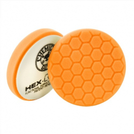 CHEMICAL GUYS HEX-LOGIC MEDIUM-HEAVY CUTTING PAD ORANGE (100 mm)