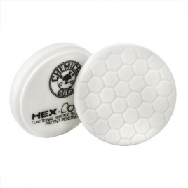 CHEMICAL GUYS HEX-LOGIC LIGHT-MEDIUM POLISHING PAD WHITE  (100 mm)