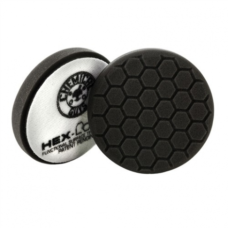 CHEMICAL GUYS HEX-LOGIC FINISHING PAD BLACK (100 mm)