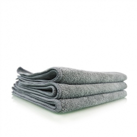 CHEMICAL GUYS WORKHORSE GRAY PROFESSIONAL GRADE MICROFIBER TOWEL