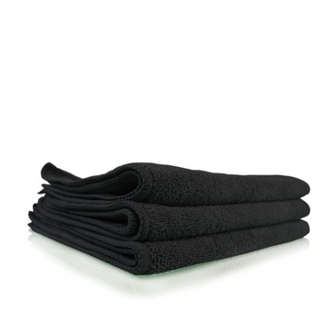 CHEMICAL GUYS WORKHORSE BLACK PROFESSIONAL GRADE MICROFIBER TOWEL