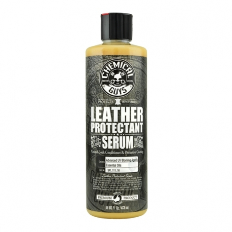 CHEMICAL GUYS LEATHER PROTECTANT - DRY-TO-THE-TOUCH SERUM (473 ml)