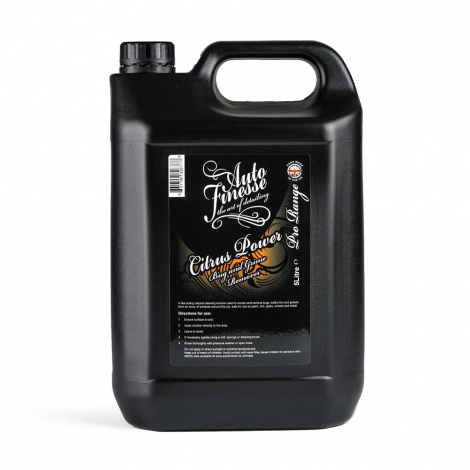 AUTO FINESSE CITRUS POWER BUG & GRIME REMOVER (5000 ml)